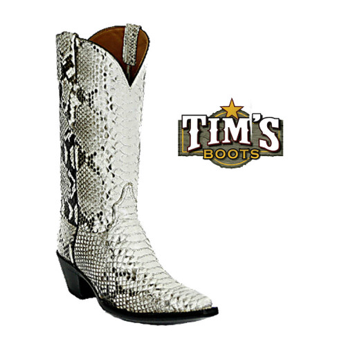 Black Jack Boots Python Cowboy Boots El Patron