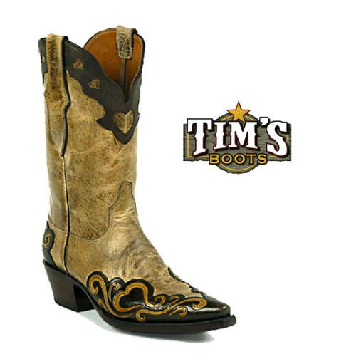 Black Jack Boots Black Jack Hand Tooled Boots - Style 187