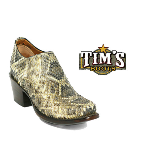 Black Jack Boots Rattlesnake Shoe Boots