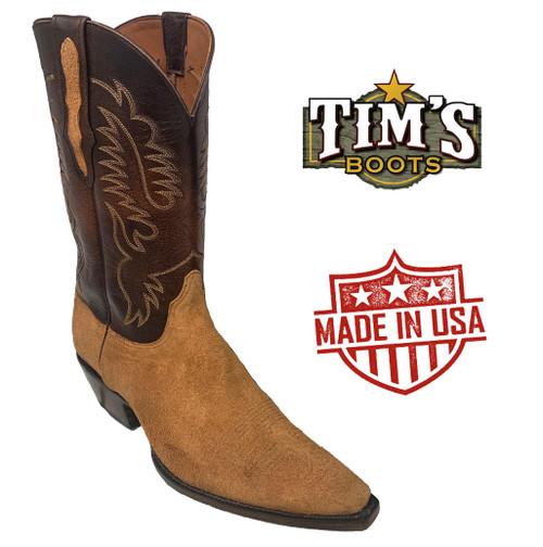 Black Jack Boots Suede Cowboy Boots