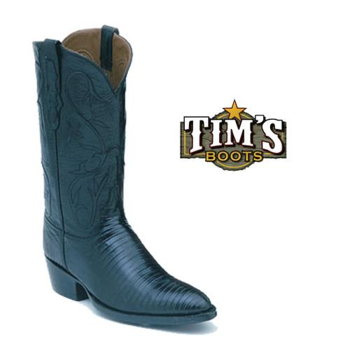 Black Jack Boots Black Jack Teju Lizard Cowboy Boots