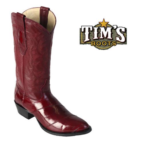 Los Altos Boots Los Altos Mens Eel Cowboy Boots R toe