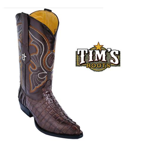 Los Altos Boots Los Altos Caiman Tail Boots -J Toe