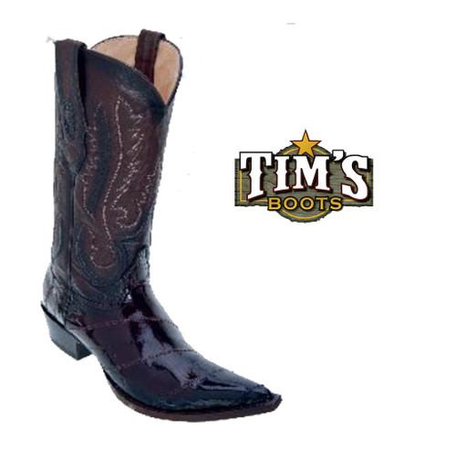 Los Altos Boots Los Altos Eel Cowboy Boots XXX Toe