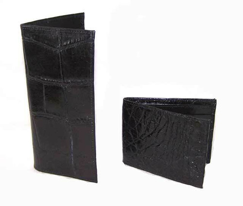 Tims Boots Alligator Wallet / Checkbook Cover