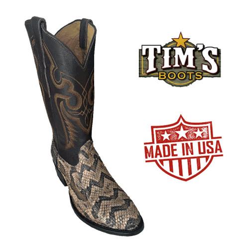 Cowtown Boots Canebrake Rattlesnake Cowboy Boots