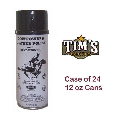 Cowtown Boots Cowtowns Leather Polish case of 12