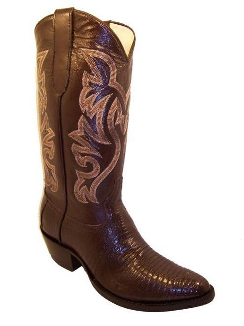 Cowtown Lizard Western Cowboy Boots