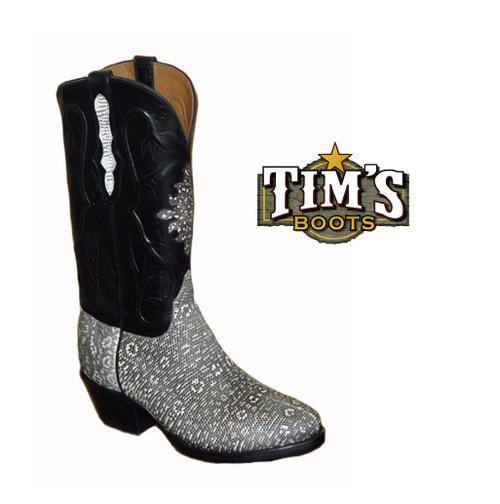 Black Jack Boots Black Jack Ring Lizard Cowboy Boots