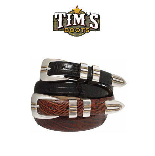 Italian Leather Designer Belt