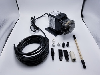 Works with Econ LD Series Pumps. Includes Pump Tube and Ferrules Stenner EC30M-5 Pump Tube M with 1//4 Ferrules 5-pk