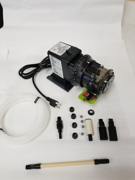 Stenner Pump 85M5 - 4.3 to 85 gpd. Adjustable Rate - 25psi - 85MJL5A1S