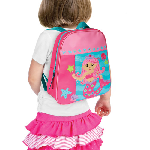 Little Girls Mermaid backpack, Personalized Backpack by Stephen Joseph