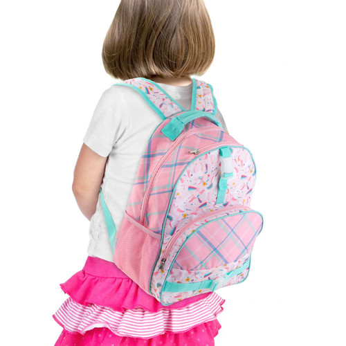 Pink Unicorn Backpack for little girls by Stephen Joseph