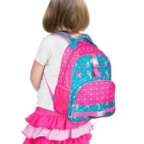 Mermaid Backpacks By Stephen Joseph  Monogrammed for little girls