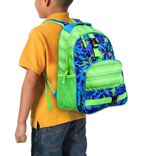 Little boys shark backpack Personalized by Stephen Joseph