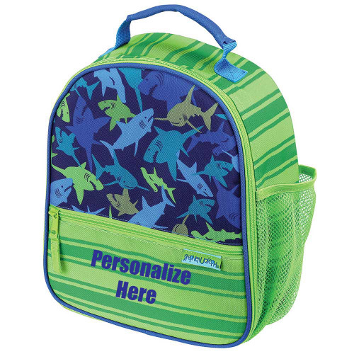 Personalized Lunch Box with sharks by Stephen Joseph