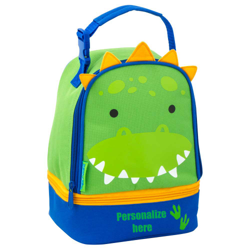 Stephen Joseph Personalized Dinosaur Lunch Bag