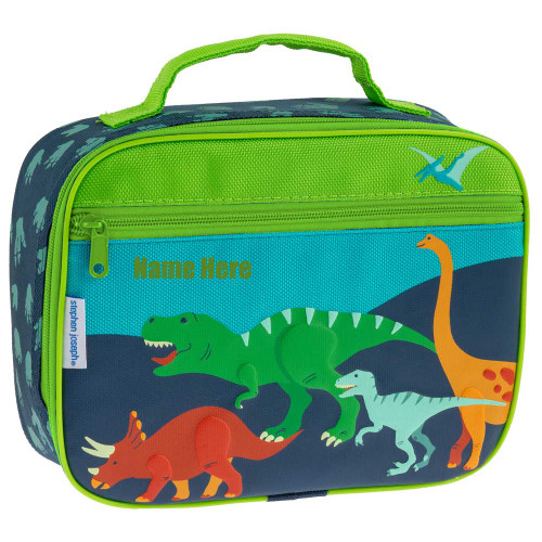 Classic Dinosaur Personalized Boys Lunchbox