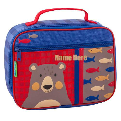 Kids Bear Little Boys Personalized Lunchbox