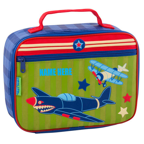 Personalized Kids Plane Lunchbox