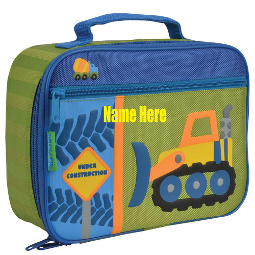 Little boys Construction Themed Lunchbox