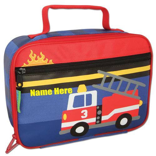 Stephen Joseph Personalized Classic Firetruck Lunchbox