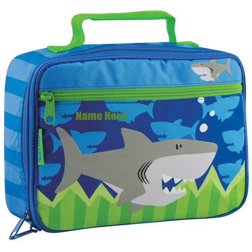 Little Boys Personalized Shark Lunchbox