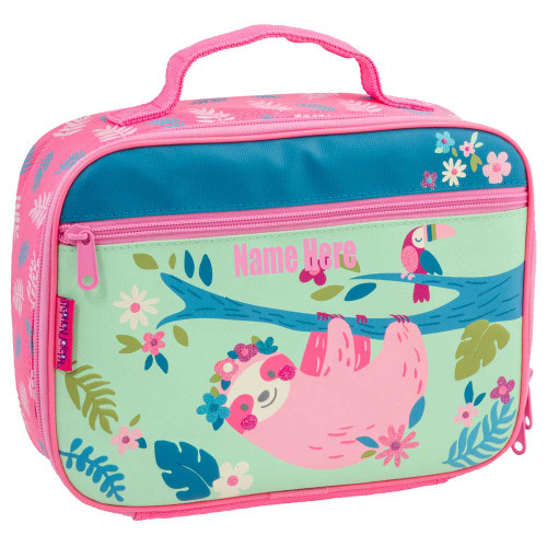 Personalized Sloth Lunchbox for little girls