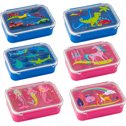 kids bento boxes for lunch and snacks by Stephen Joseph