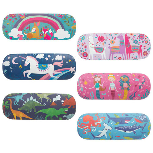 kids eye Glass cases super cute eye glass cases with mermaids, sharks or Unicorns