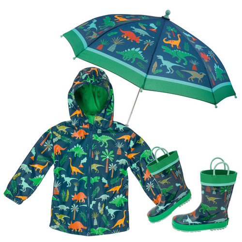 Dino Rain Coat for little boys