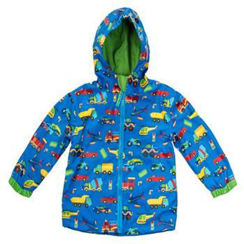 transportation toddler rain coat