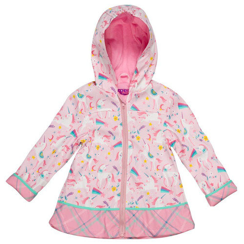 UNICORN girls rain coat