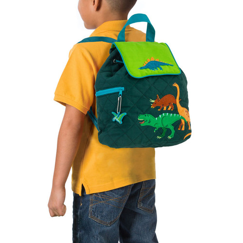 Quilted Dino Backpack