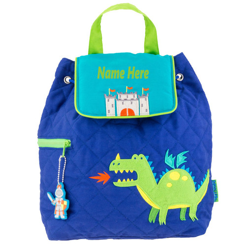 Dragon Quilted Toddler Backpack