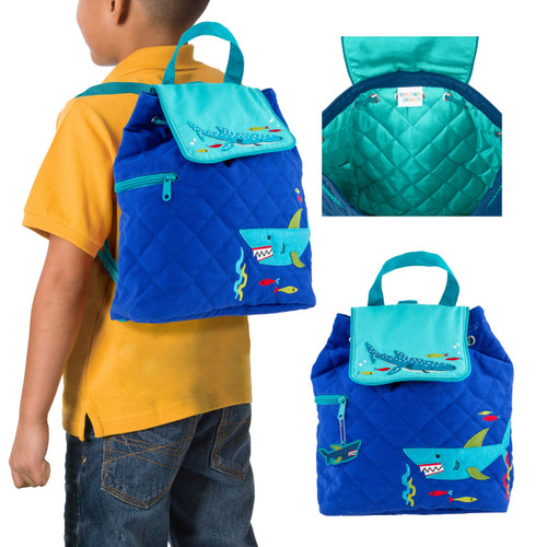 Shark Backpack Under the Sea Design