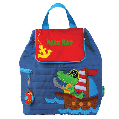 Personalized Alligator Backpack