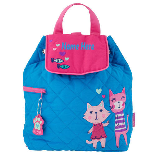 Personalized Cat Backpack