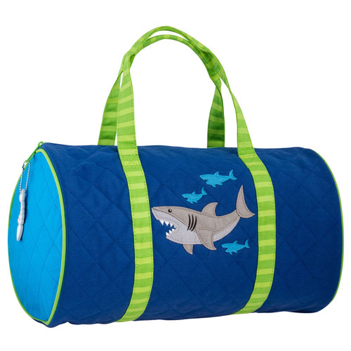 Shark Duffel bag, Little Boys duffel Bag with shark design