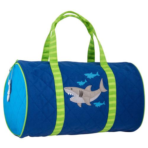 Shark Duffel bag, Little Boys duffel Bag with shark design