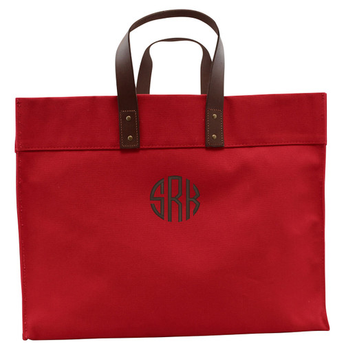 Monogrammed Canvas Tote Bag,  High quality