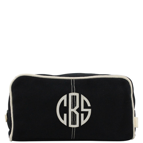 Dopp kits canvas monogrammed great for wedding party gifts