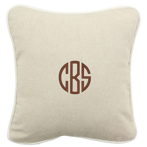 Monogrammed  16x 16 Pillow