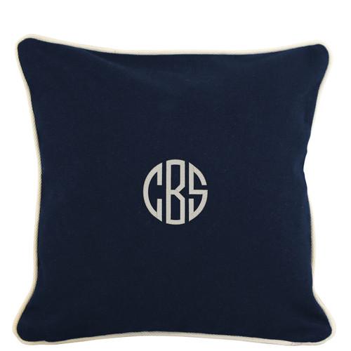 Monogrammed Pillow case 16 x 16