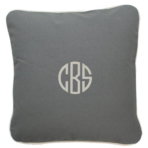 Monogrammed Pillow 16 x 16