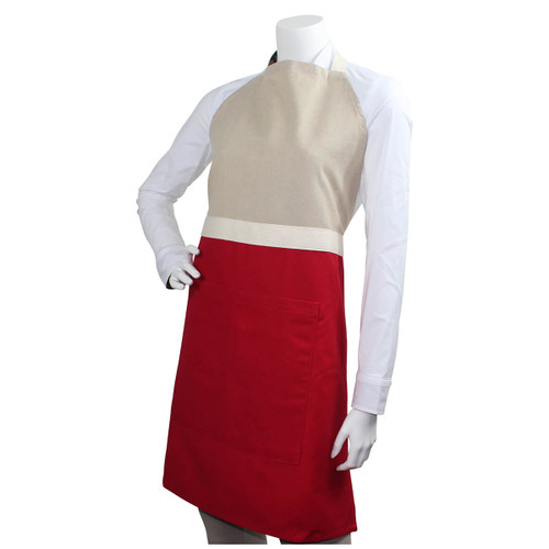 Personalized Red Kitchen Apron