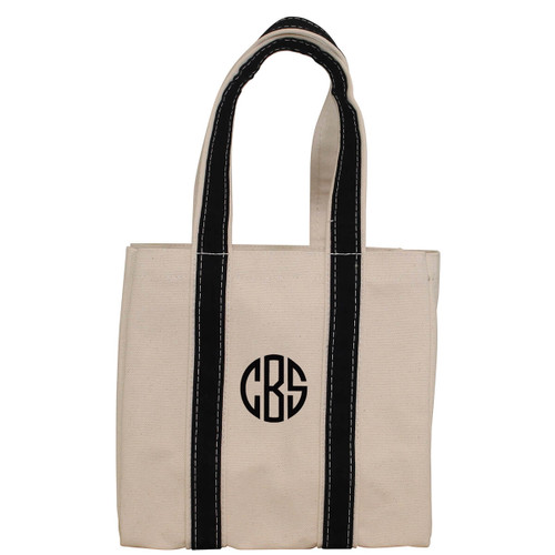 4 Bottle Wine Carrier Monogrammed Tote