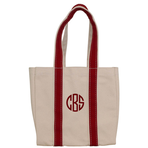Monogrammed 4 Bottle Wine Tote