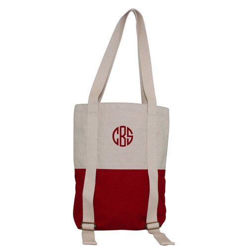 Monogrammed Yoga Mat Tote-Red